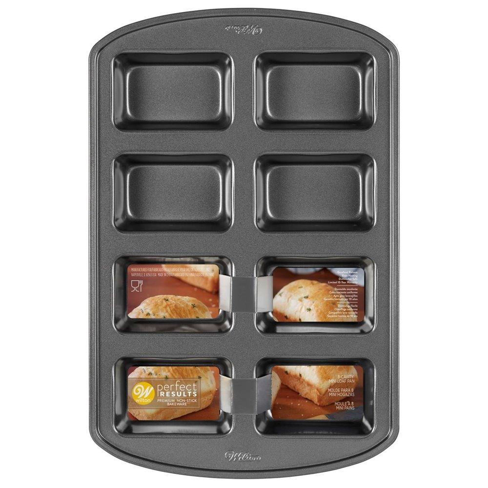 Molde para mini pasteles rectangulares Wilton
