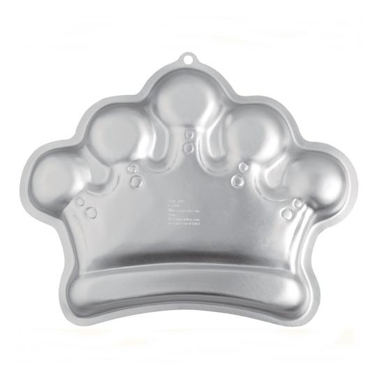Molde para tartas corona de princesa