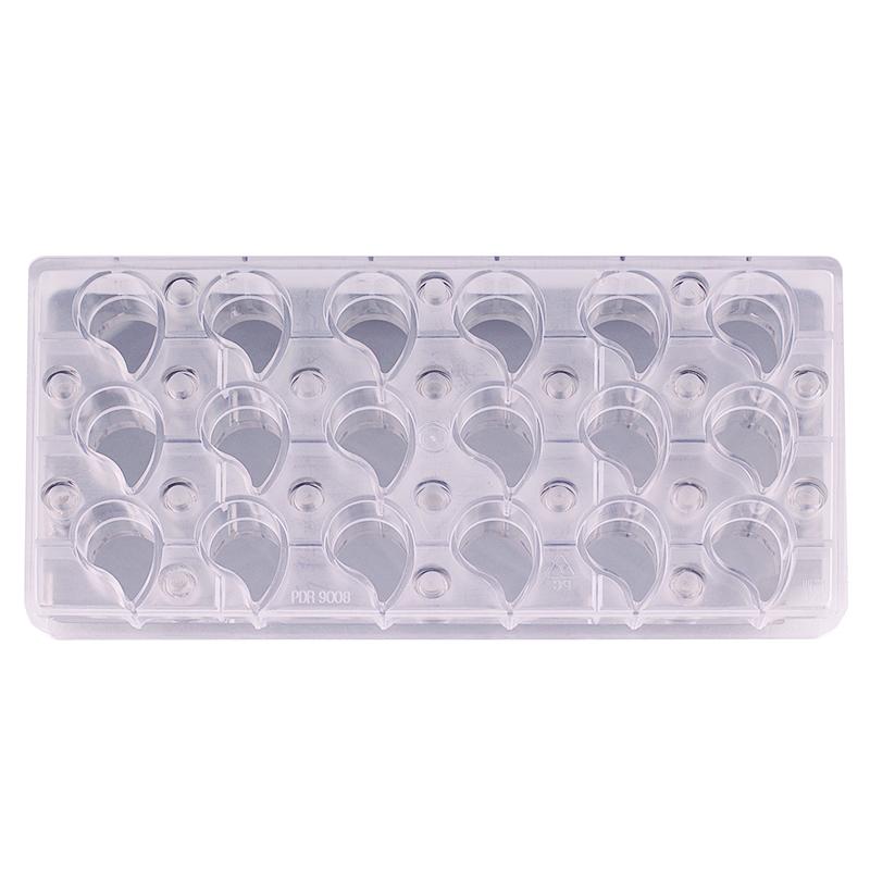 Molde policarbonato con base magnética Lágrima - My Karamelli