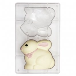 Molde policarbonato Conejo 13 cm