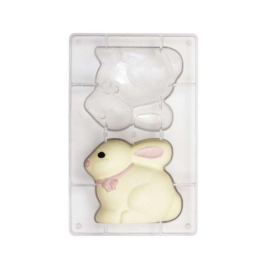 Molde policarbonato Conejo 9 cm