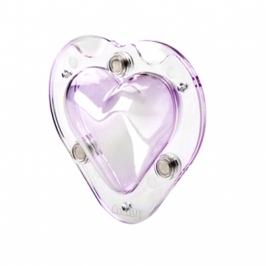 Molde Policarbonato Magnético Corazón 3D