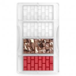 Molde Policarbonato Tabletas Ladrillos