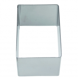Molde rectangular para emplatar 6,5cm x 4,5cm