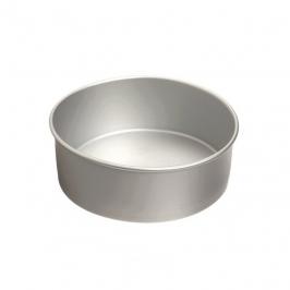 Molde Redondo de Aluminio Anodizado 15 cm x 10 cm de alto