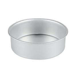 Molde Redondo de Aluminio Anodizado 20 cm x 7,5 cm