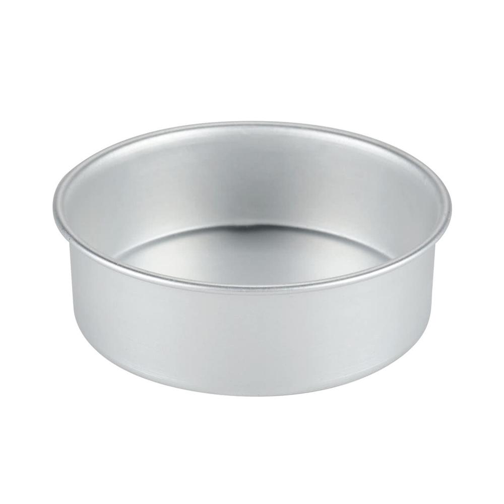 Molde Redondo de Aluminio Anodizado 25 cm x 7,5 cm