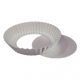 Molde redondo desmoldable para tartas 24x2,5cm
