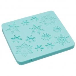 Molde de Silicona Copos de Nieve