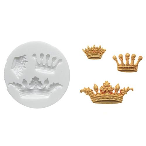 Molde de silicona Coronas