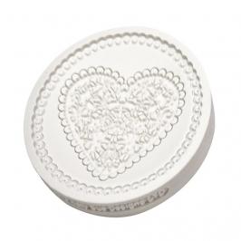 Molde de Silicona Corazón Vintage