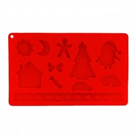 Molde silicona Navidad Papá Noel