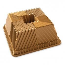 Molde Squared Pan Dorado de Nordic Ware