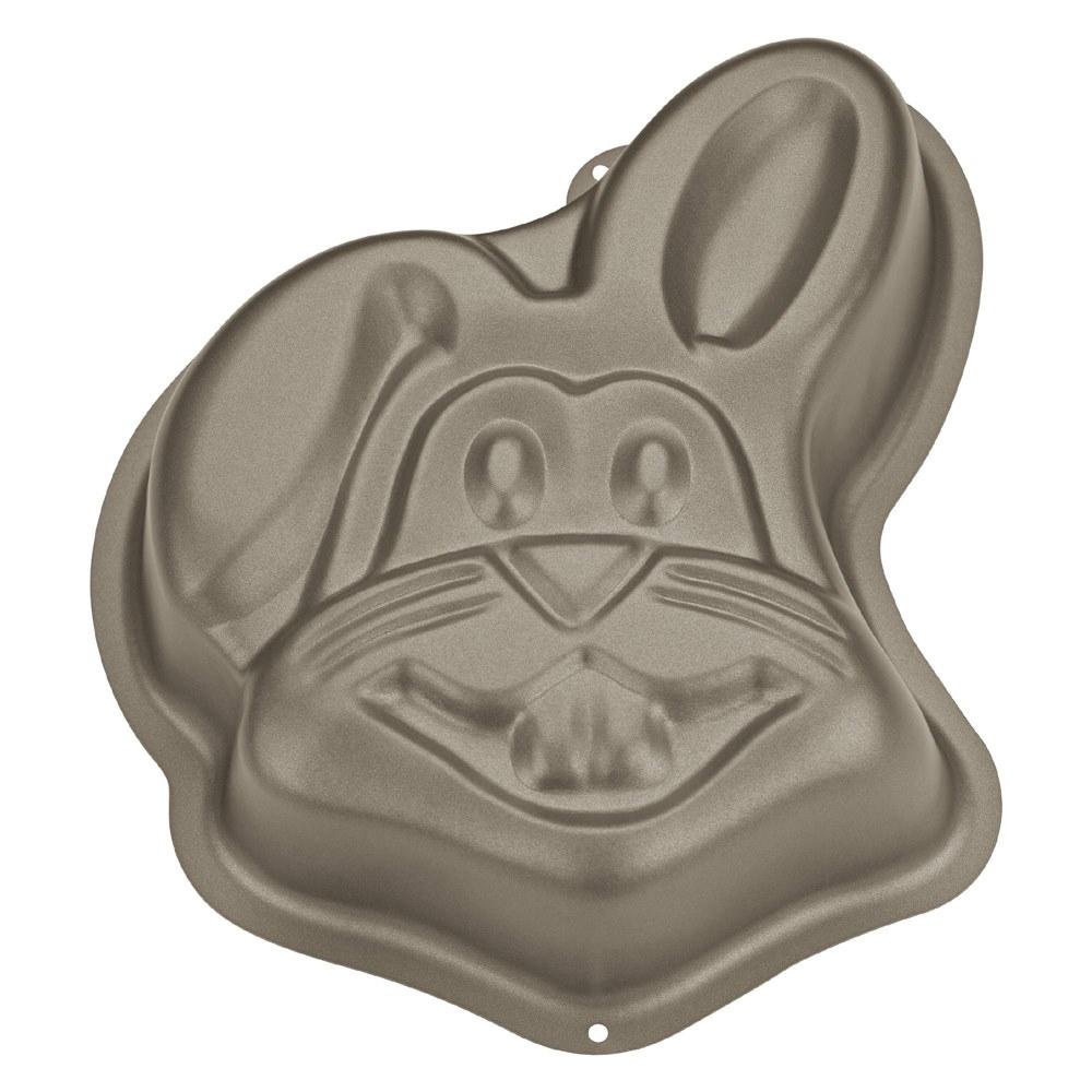 Molde para Hornear Cara de Conejo 26 cm