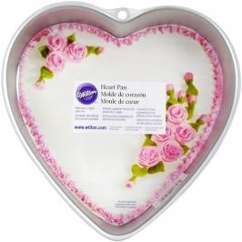 Molde para tarta Corazón 22,5 cm  Wilton