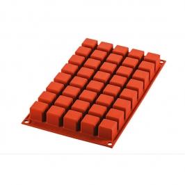 Molde de Silicona Mini Cubos (40 cavidades)