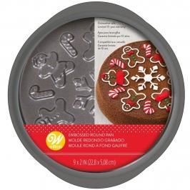 Molde para Tartas Muñeco de Jengibre 22 cm