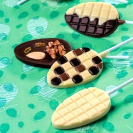 Moldes para Chocolate Piruletas Huevo