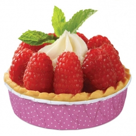 Set de 12 moldes para Tartaletas Rosa