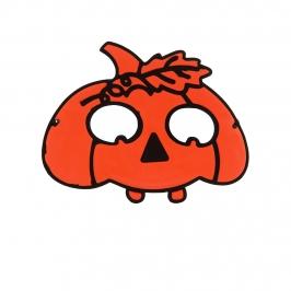 Máscara Calabaza Naranja - My Karamelli