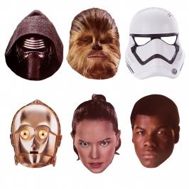 Máscaras Star Wars 6 Unidades - My Karamelli