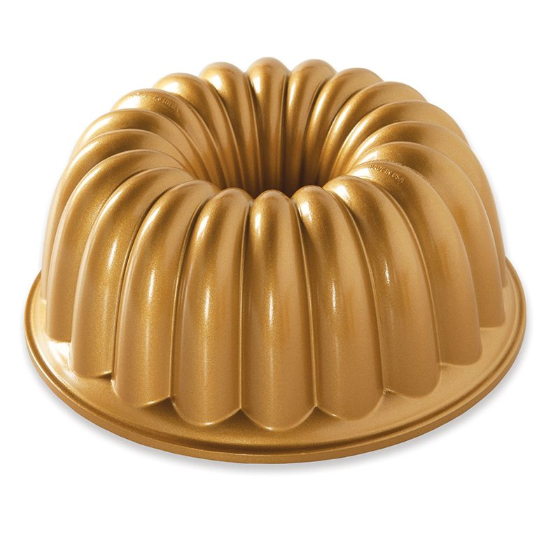 Nordic Ware Elegant Party Bundt Pan Dorado