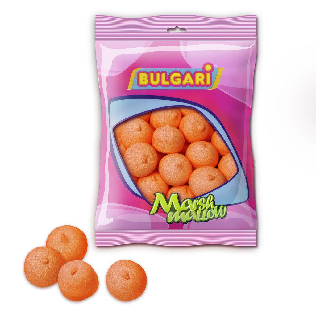 Nubes de Azúcar Bolas Naranjas 110 Unidades