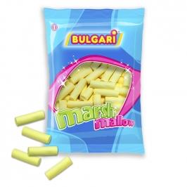 Nubes de Azúcar Lisas amarillas 140 Unidades