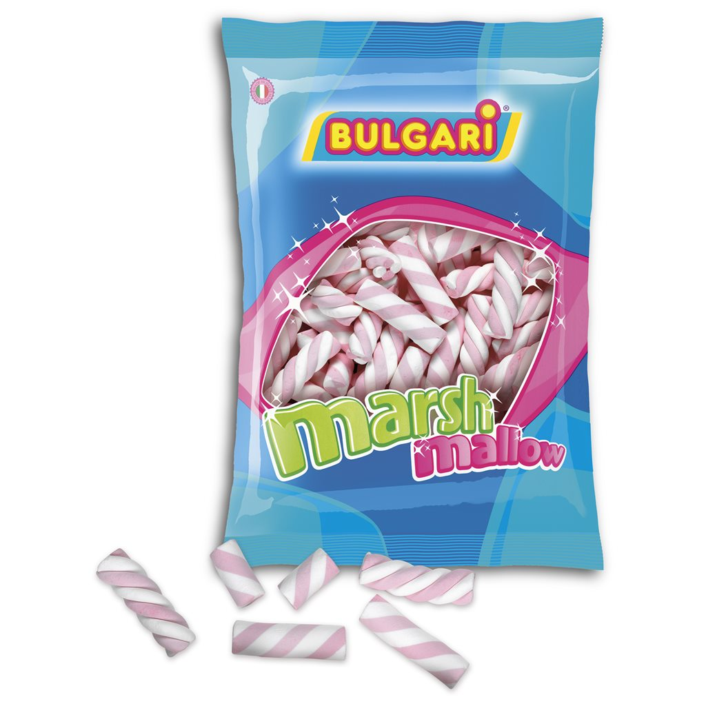 Nubes de Azúcar Trenzadas Fresa 140 unidades