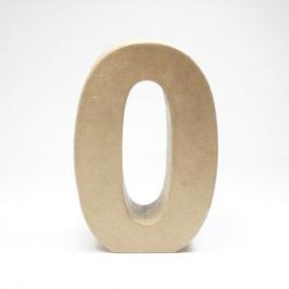 Número 0 de Cartón 17cm