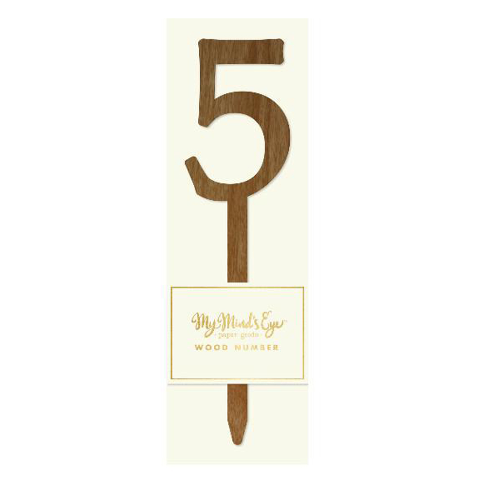 Número 5 Madera