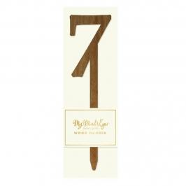 Número 7 Madera