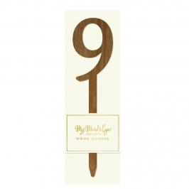 Número 9 Madera