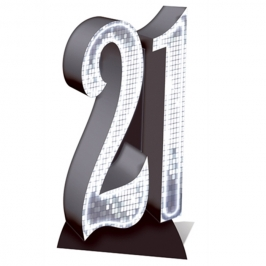 Número Decorativo 21 Años 170 cm