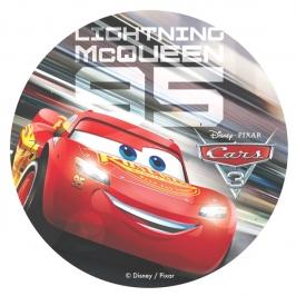 Oblea de Cars Rayo McQueen