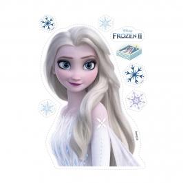 Oblea para Tarta Silueta Frozen 13,5 cm x 18,5 cm