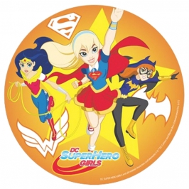 Oblea Super Hero Girls Modelo B