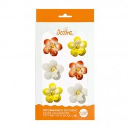 Orquídeas de Azúcar 3,5 cm 6 ud