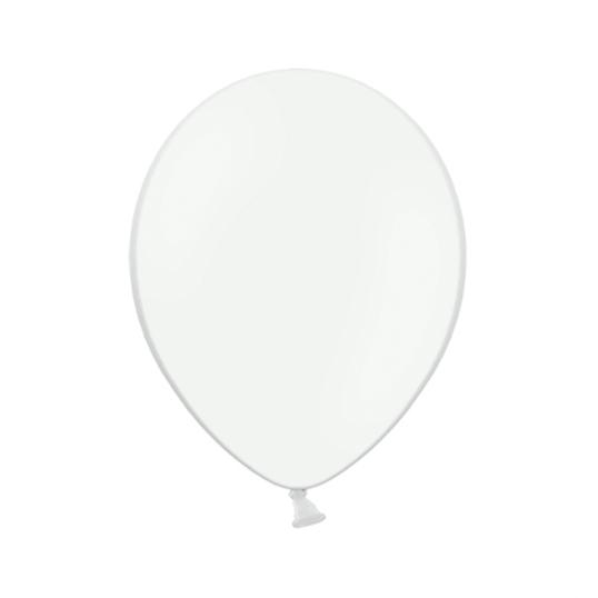 Pack 100 Globos Blancos 23 cm