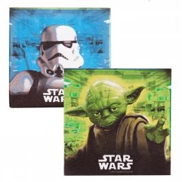 Pack 20 servilletas Guerra de las Galaxias - My Karamelli