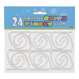 Pack 24 Clips para sujetar manteles