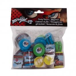 Pack 24 Juguetes Ladybug  Piñatas