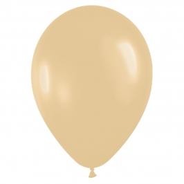 Pack de 50 globos de látex Moca pastel