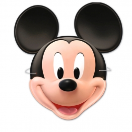Pack 6 Caretas Mickey Mouse