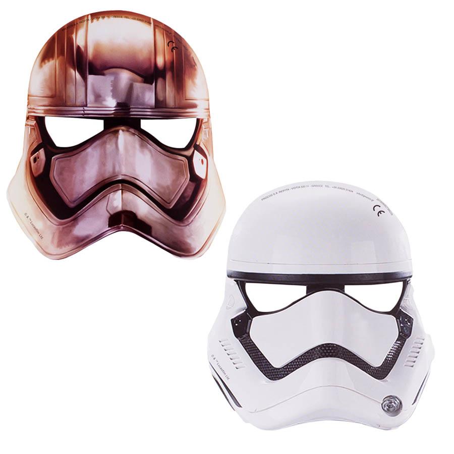 Pack 6 máscaras Soldado Imperial