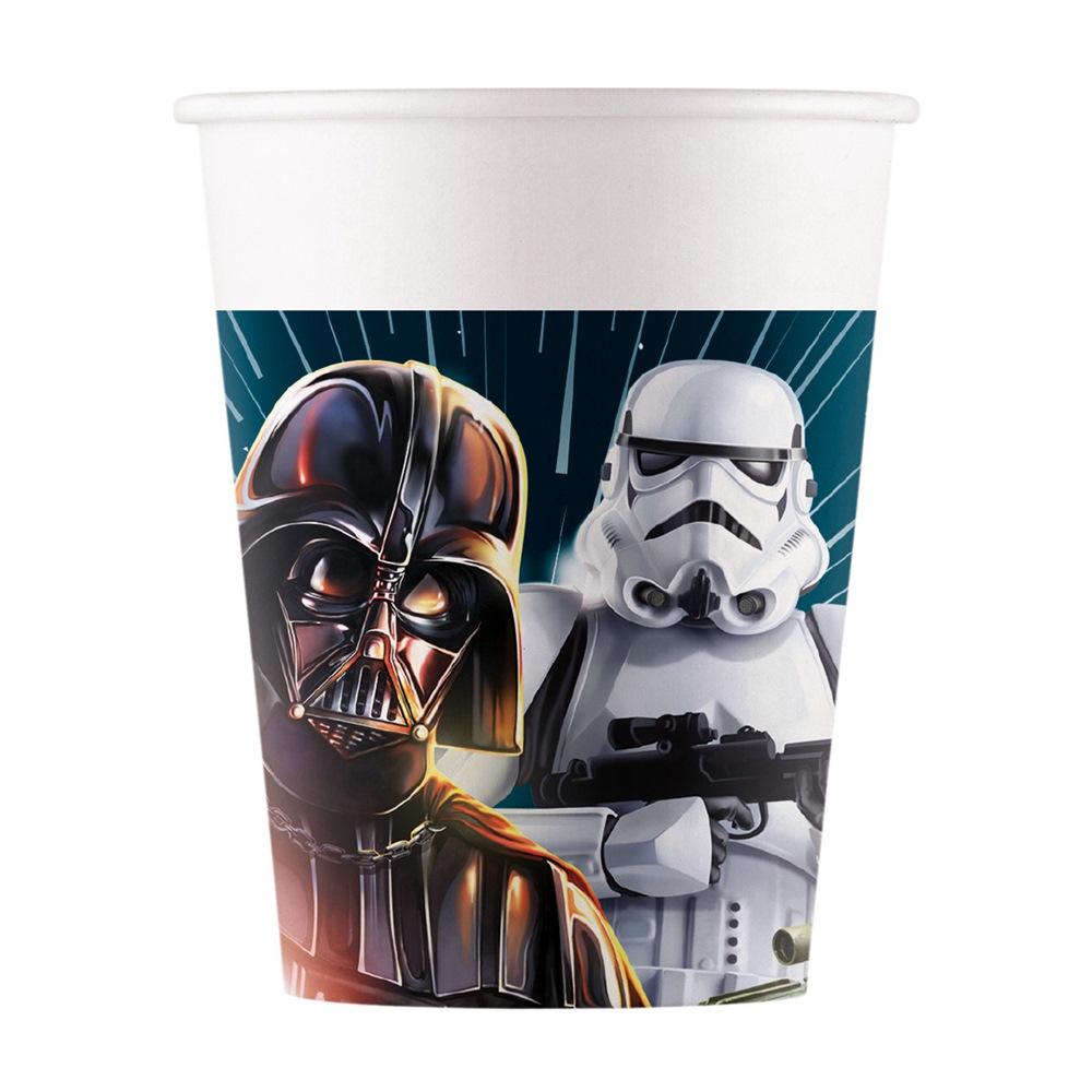 Pack 8 vasos Star Wars
