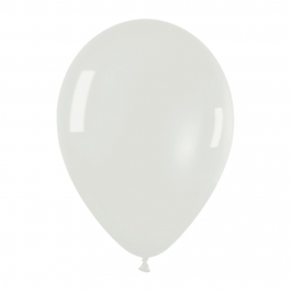 Pack de 10 globos de látex cristal color transparente