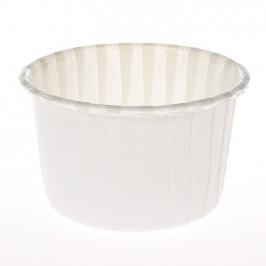 Pack de 100 Cápsulas para cupcakes Blanco Marfil