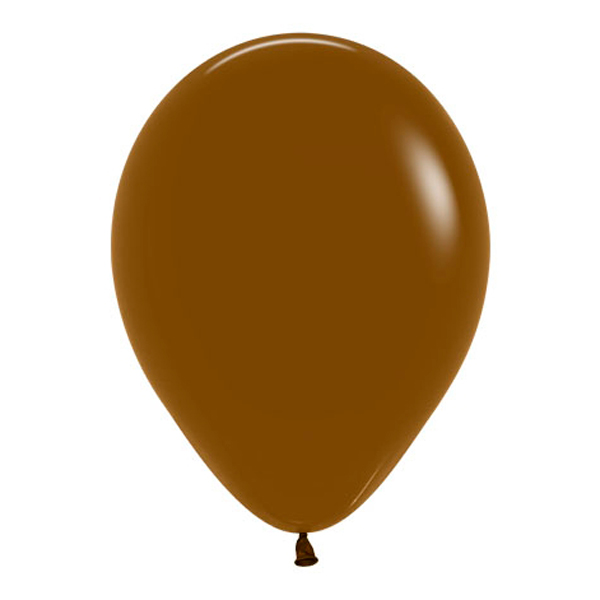 Pack de 100 Globos Color Café 12 cm