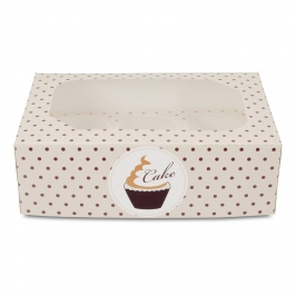 Pack de 2 Cajas para 6 Cupcakes Swing